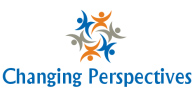 Changing Perspectives logo: several stylized human figures in an interlocked circle